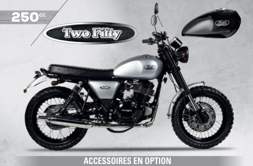 ACCESSOIRES OFFICIELS TWO FIFTY 250 MASH