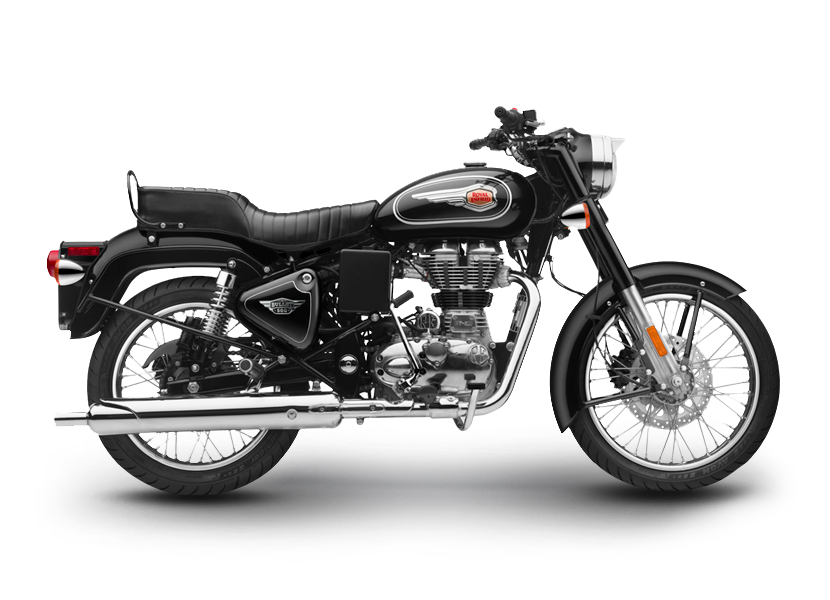 Pieces ROYAL ENFIELD Bullet STANDARD 500 Euro4 BLACK / FOREST GREEN / MARSH GREY (2017-2019)
