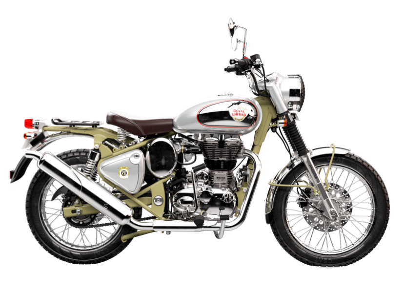 Pieces ROYAL ENFIELD BULLET TRIAL 500 GREEN (2019-2020)