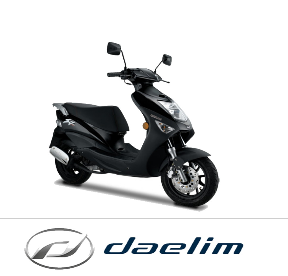 Pieces Origine Daelim Scooter 50cc