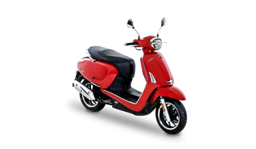 SCOOTER KYMCO NEW LIKE 50i E4 TOMATO RED