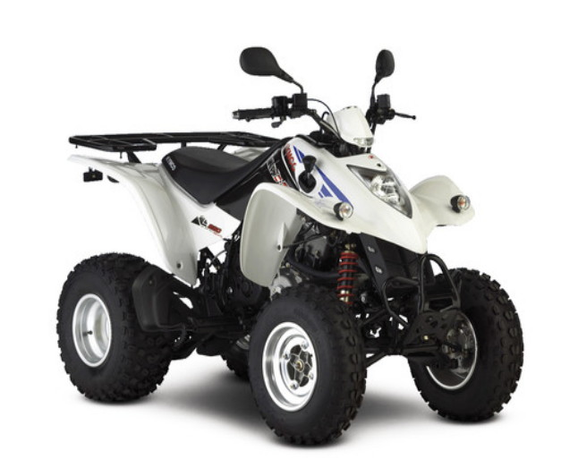 quad kymco urban 250