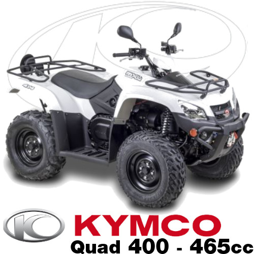 Pieces Kymco Quads MXU 400 et 465