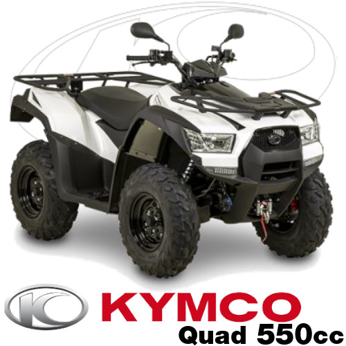 Pieces Kymco Quads MXU 550