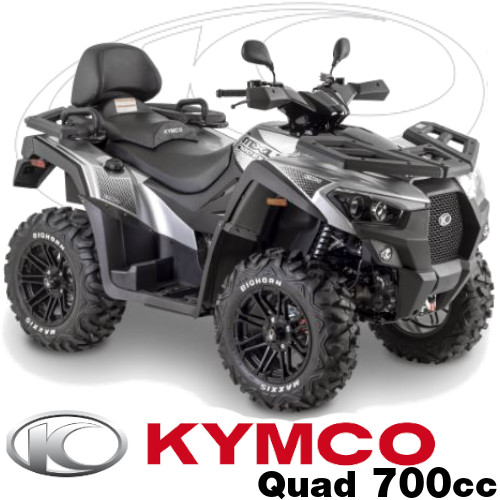 Pieces Kymco Quads MXU 700