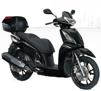 Pièces Scooter Kymco People GT 125 i EURO III