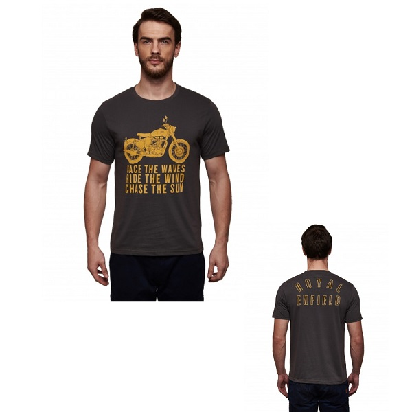 TSHIRT RACE THE WAVES ROYAL ENFIELD