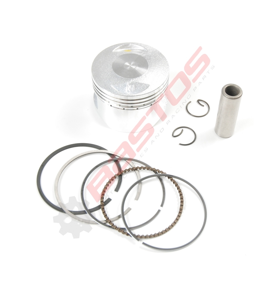 KIT PISTON 138 LIFAN DIAMÈTRE 54 AXE 14 MM - BASTOS -
