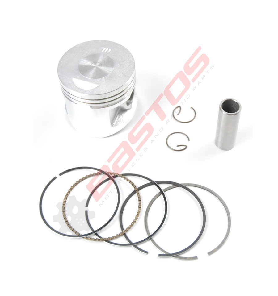 KIT PISTON 138 YX DIAMÈTRE 54 AXE 13 MM - BASTOS -