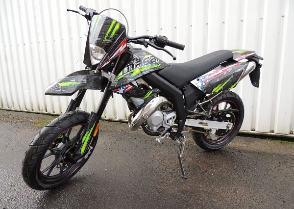 CYCLO Masai SUPERMOTARD 50cc ULTIMATE NOIRE