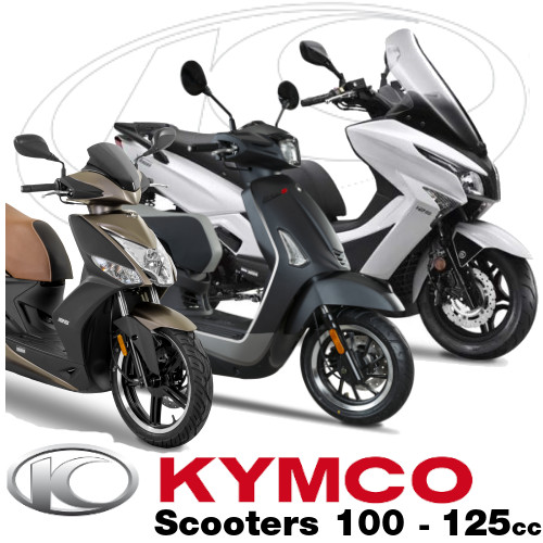 Pieces Kymco Origine SCOOTERS 100 -125 cc