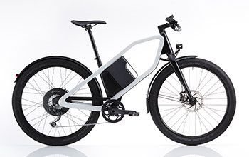 Velo KLEVER X Commuter BLANC(M) 570Wh/80-120km
