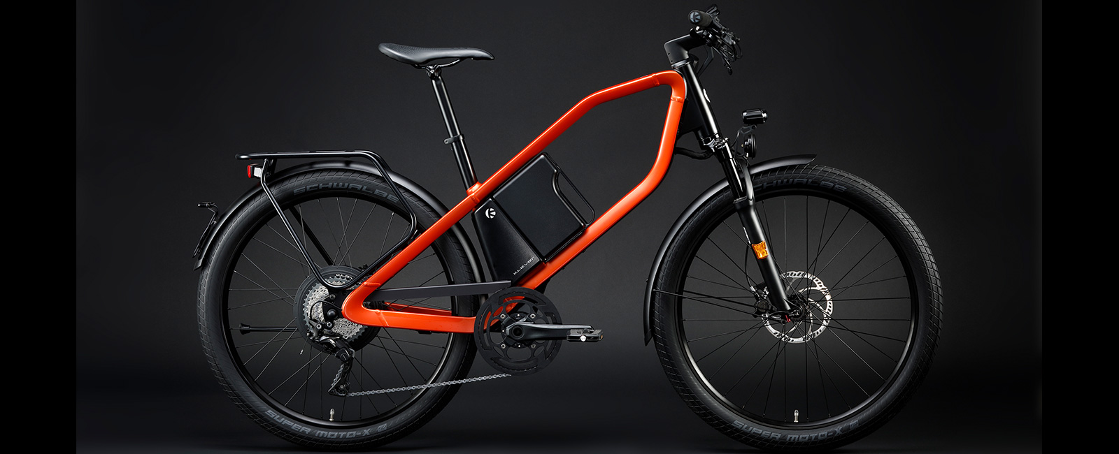Velo KLEVER X Speed ORANGE (M) 570Wh/30-60km