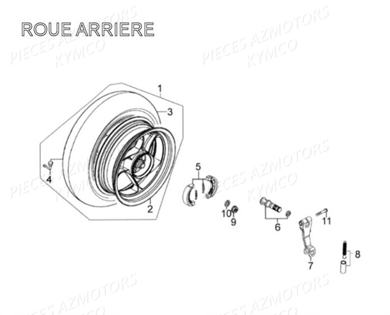 Roue Arriere