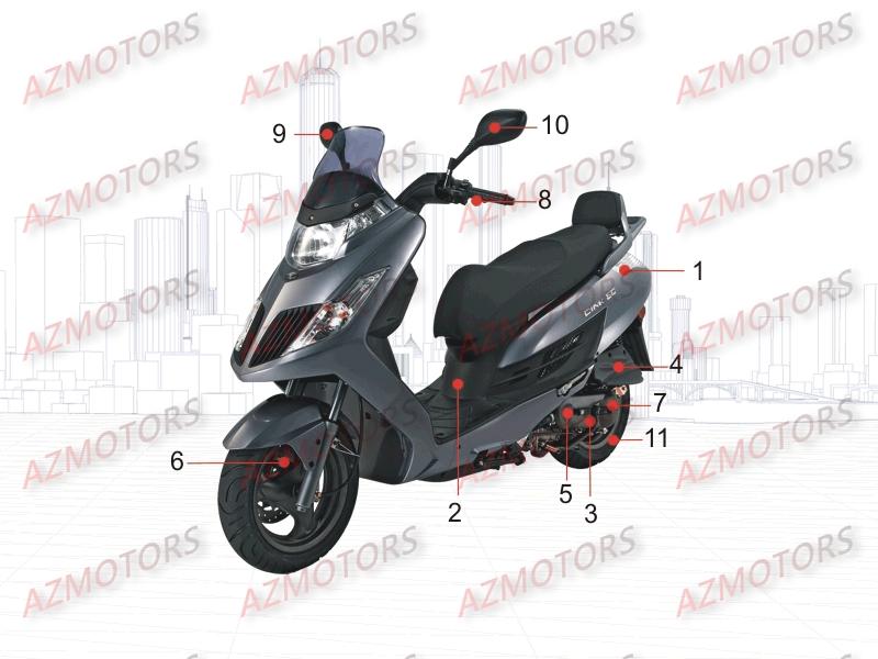 kymco pieces kymco boutique en ligne quads motos scooters. Black Bedroom Furniture Sets. Home Design Ideas