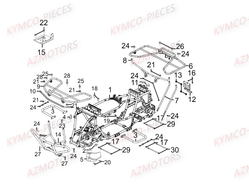 Kymco Wiring Harness